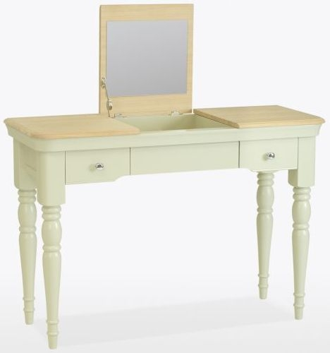 TCH Cromwell Dressing Table with Mirror - Oak and Painted