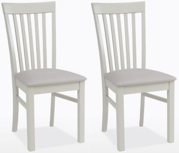 TCH Cromwell Elizabeth Fabric Seat Dining Chair (Pair)