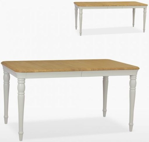 TCH Cromwell Extending Large Dining Table - Oak and Painted