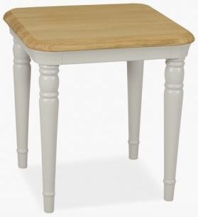 TCH Cromwell Lamp Table - Oak and Painted