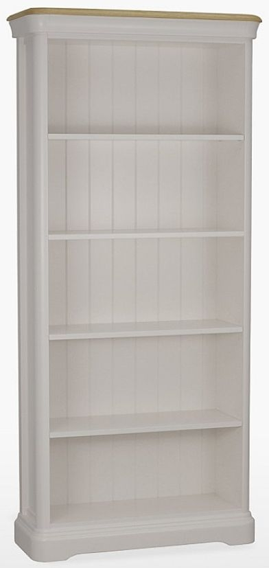 TCH Cromwell Large Bookcase - Oak and Painted