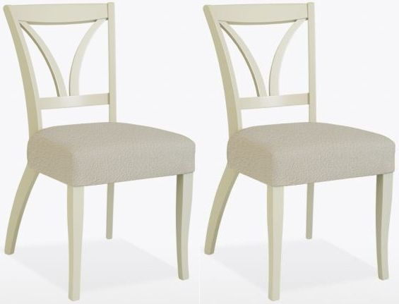 TCH Cromwell Margaret Leather Dining Chair (Pair)