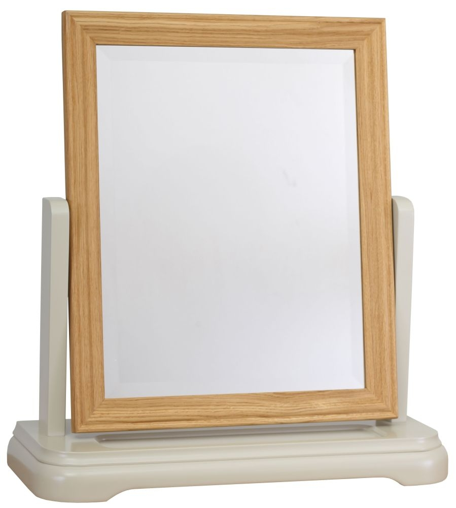 TCH Cromwell Dressing Mirror - Oak and Painted