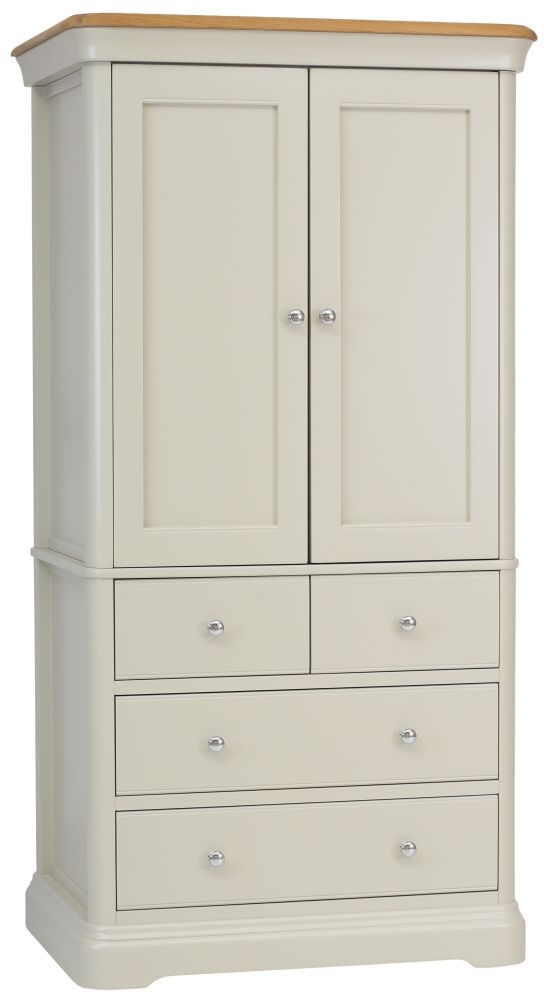TCH Cromwell Painted 2 Door 4 Drawer Linen Chest