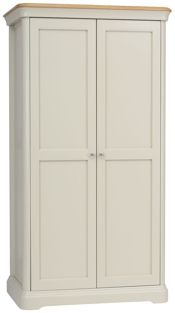 TCH Cromwell Painted Wardrobe - Hanging