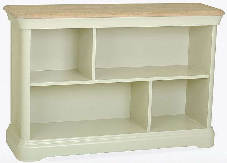 TCH Cromwell Small Bookcase - Oak and Painted