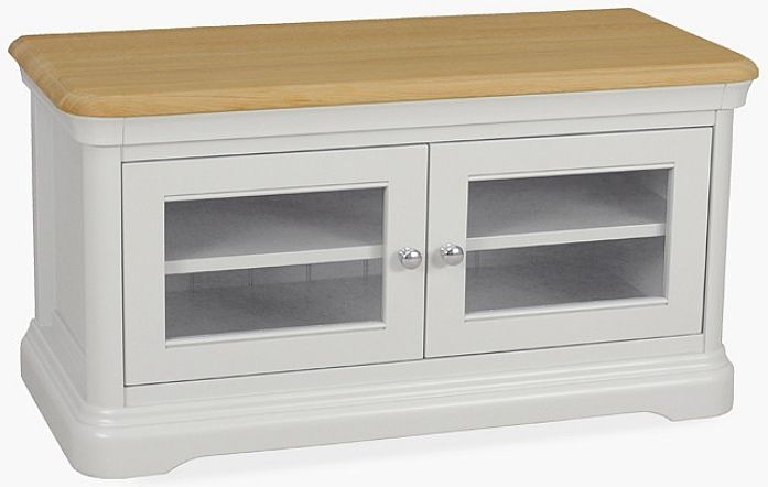 TCH Cromwell TV Unit - Oak and Painted