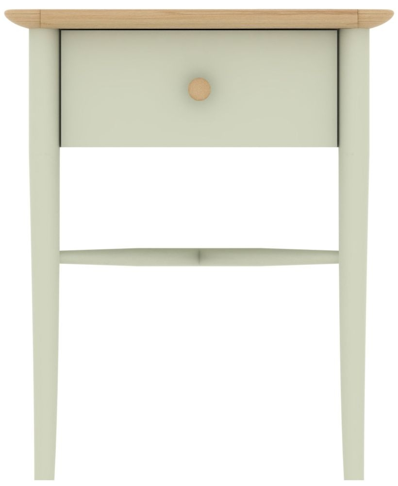 TCH Elise Painted 1 Drawer Bedside Table