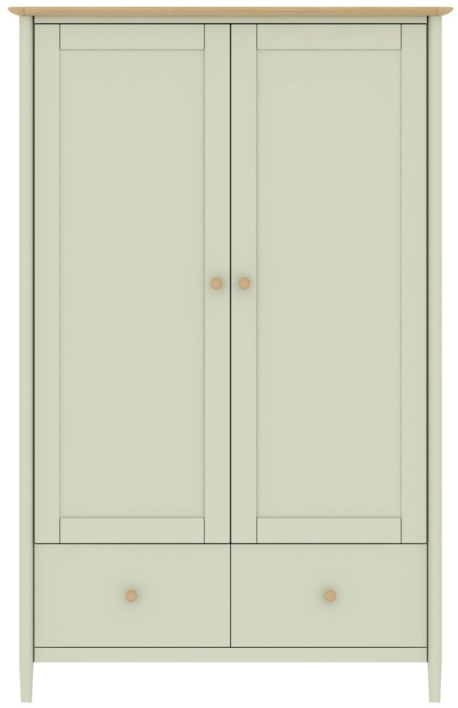 TCH Elise Painted Wardrobe - 2 Drawer