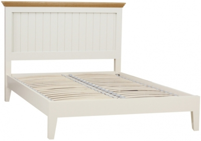 TCH Emily Cream Painted Panel Bed