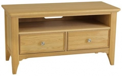 TCH New England Oak TV Unit