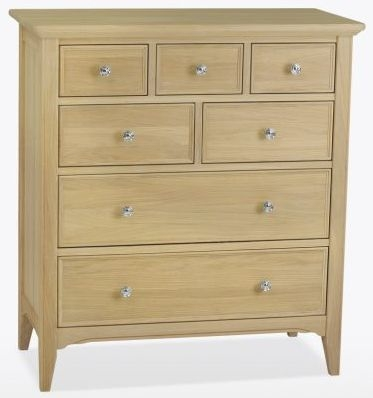 TCH New England Oak 7 Drawer Chest