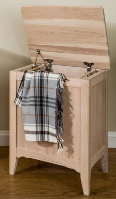 TCH New England Oak Laundry Chest