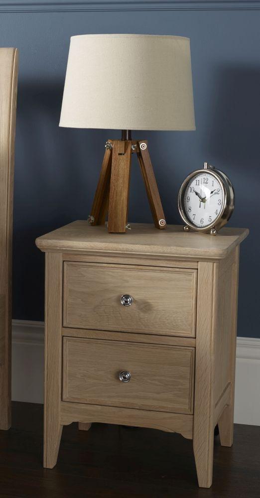 TCH New England Oak Bedside Cabinet