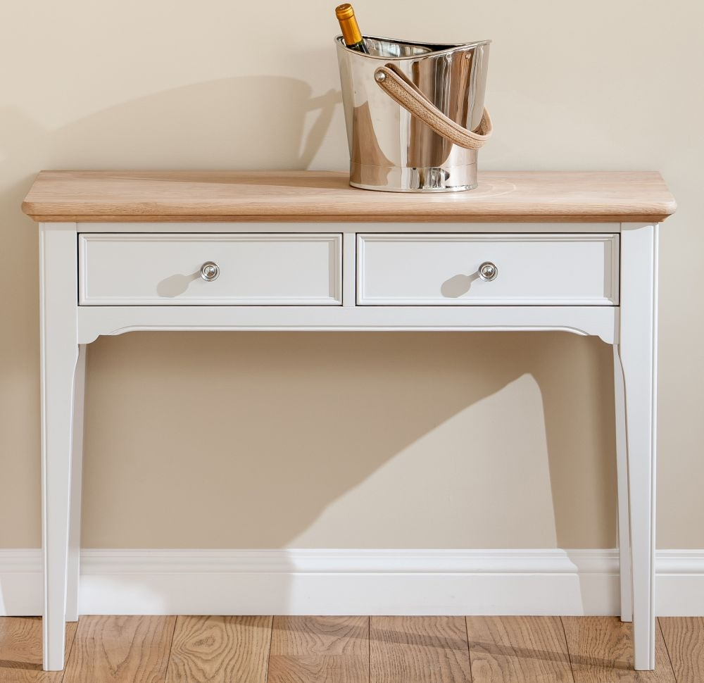 TCH New England Oak Console Table
