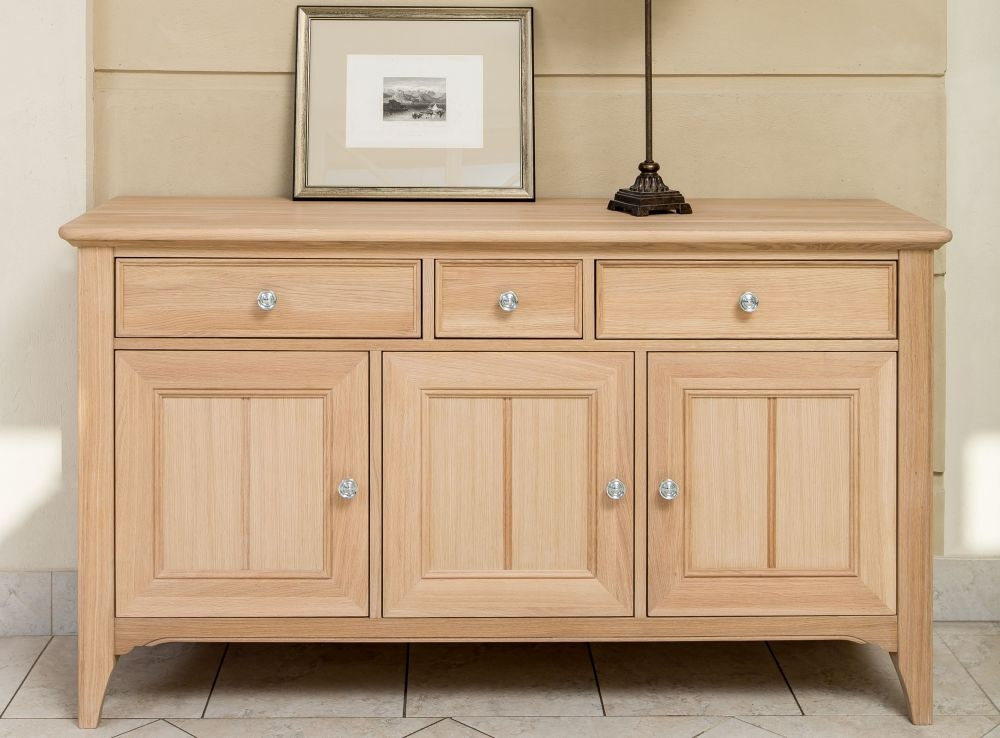 TCH New England Oak Large Sideboard