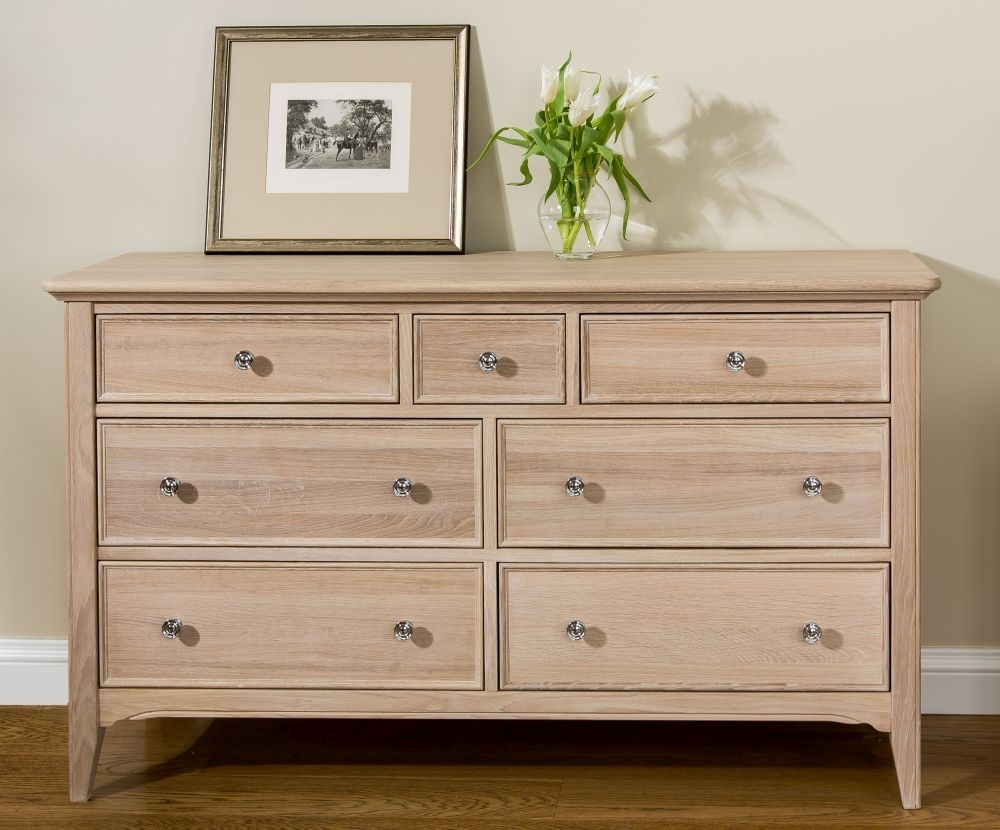 TCH New England Oak 4+3 Drawer Chest