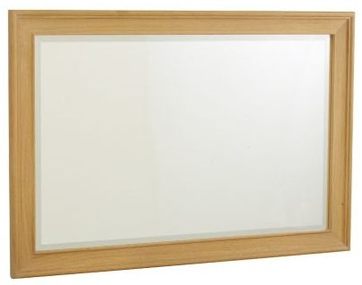 TCH New England Oak Rectangular Wall Mirror