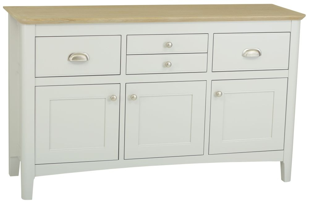 TCH Newark Painted 3 Door 4 Drawer Sideboard