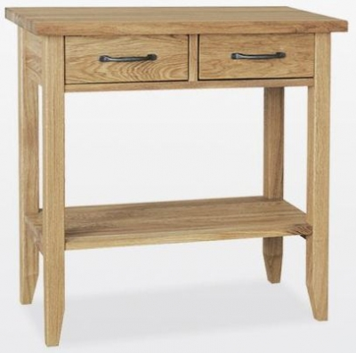 TCH Windsor Oak Large Console Table