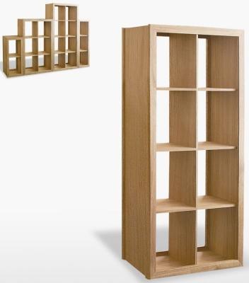 TCH Windsor Oak Venice Tall Wide Shelf