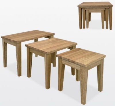 TCH Windsor Oak Nest of Table