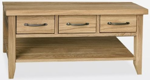 TCH Windsor Oak Storage Coffee Table