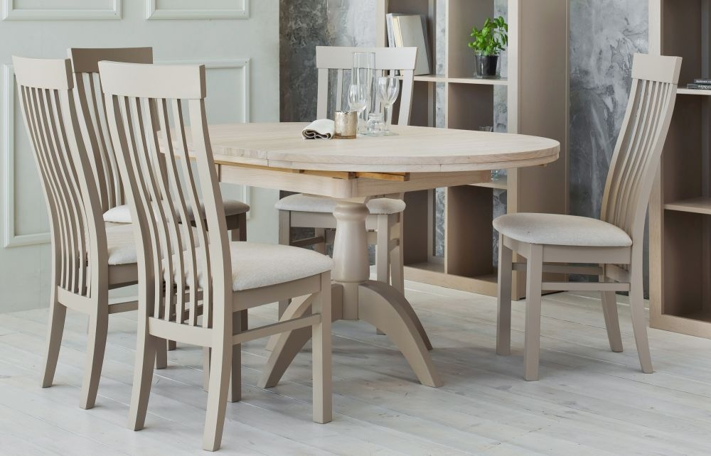 TCH Windsor Oak Double Pedestal Extending Dining Table