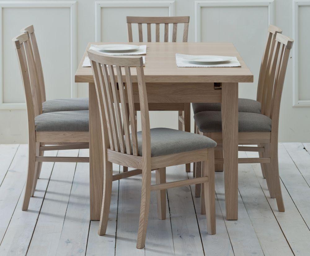TCH Windsor Oak Large Extending Dining Table