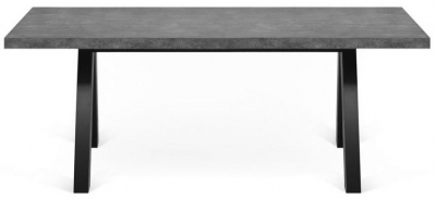 Temahome Apex Concrete Melamine Dining Table