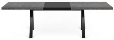 Temahome Apex Concrete Melamine Extending Dining Table