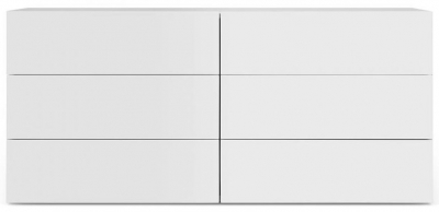 Temahome Aurora Pure White 6 Drawer Chest