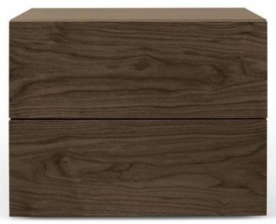 Temahome Aurora Walnut Bedside Cabinet