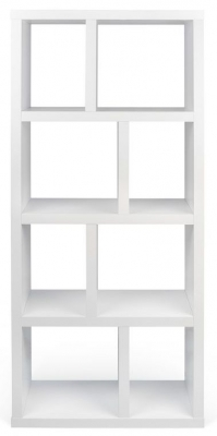Temahome Berlin Pure White 4 level Bookcase