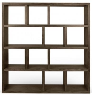 Temahome Berlin Walnut Wide 4 level Bookcase