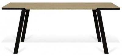 Temahome Drift Light Oak Dining Table