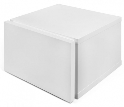 Temahome Float Pure White Bedside Cabinet