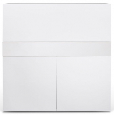 Temahome Focus White Writing Desk