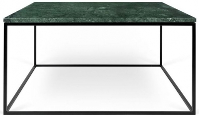 Temahome Gleam 75cm Green Marble Coffee Table