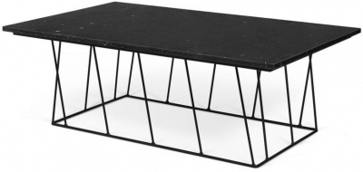 Temahome Helix Black Marble Coffee Table