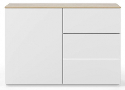Temahome Join 120H2 White and Oak Sideboard