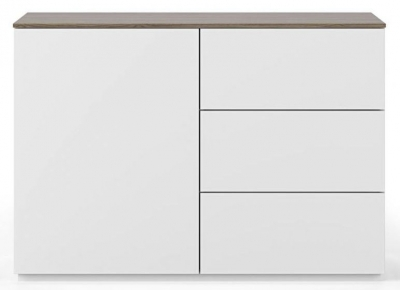 Temahome Join 120H2 White and Walnut Sideboard