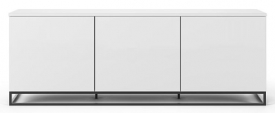 Temahome Join 180L2 White Sideboard with Metal Base