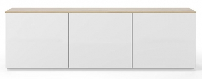Temahome Join 180L2 White and Oak Sideboard