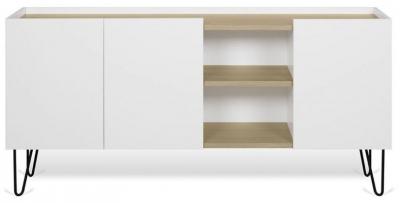 Temahome Nina Oak and White Sideboard