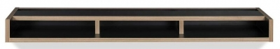 Temahome Ply Black Plywood Edge Wall Shelf