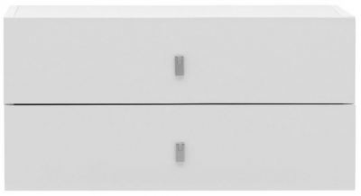 Temahome Pombal Pure White 68cm 2 Drawer Unit