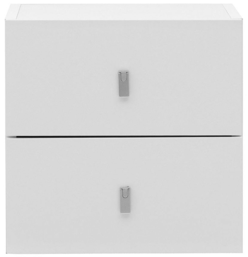 Temahome Pombal Pure White 34cm 2 Drawer Unit