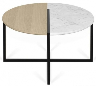 Temahome Sonata Marble Round Coffee Table