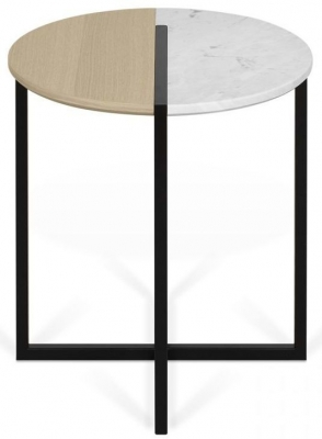 Temahome Sonata Marble Round Side Table